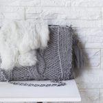 縮んだ手編みの洋服をリメイクしてクラッチバッグを作る
