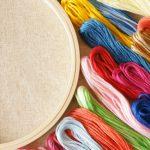 刺繍を刺す楽しみや刺繍の種類について