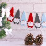クリスマスのフラッグ・ガーランド