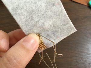 ビーズ刺繍を刺すコツ