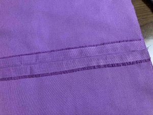 縫い代はアイロンで割る