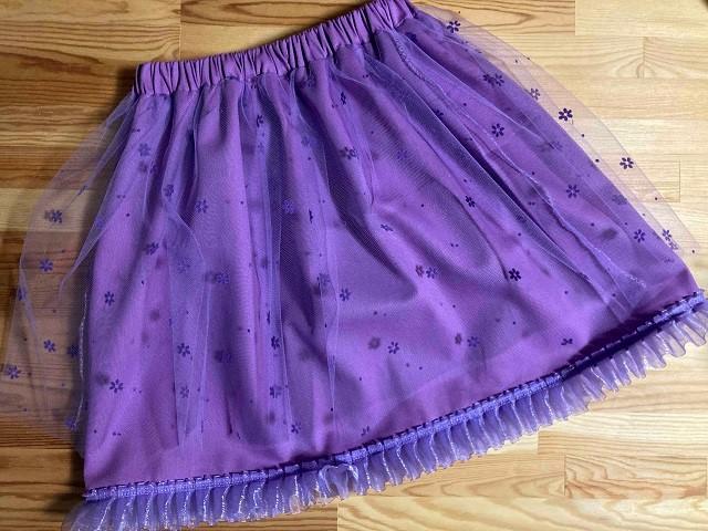 プリンセスソフィアのスカートドレス