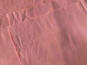 ピンクのスカートドレスの作り方