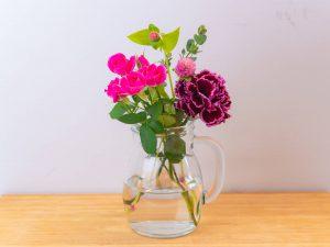花瓶に生けたお花