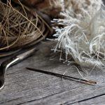 縫い針が折れたので、今度は折れない品質のいい針を買ってみた